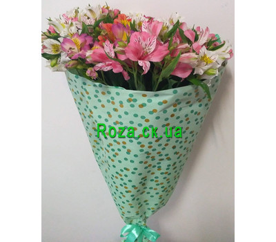 """Classic bouquet of alstroemerias 2"" in the online flower shop roza.ck.ua"