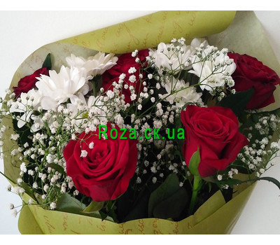 """Small bouquet 2"" in the online flower shop roza.ck.ua"