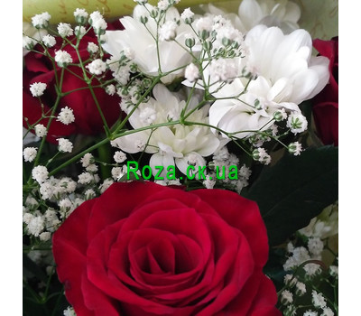 """Small bouquet 4"" in the online flower shop roza.ck.ua"