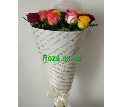 """Magnificent bouquet of roses 1"" in the online flower shop roza.ck.ua"
