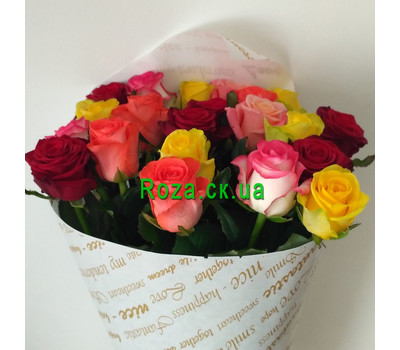 """Magnificent bouquet of roses 2"" in the online flower shop roza.ck.ua"