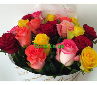 """Magnificent bouquet of roses 3"" in the online flower shop roza.ck.ua"