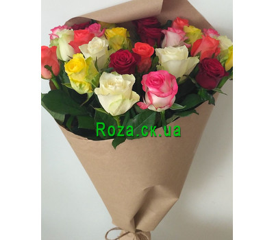 """Magnificent bouquet of roses 4"" in the online flower shop roza.ck.ua"