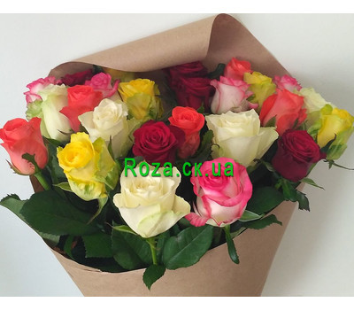 """Magnificent bouquet of roses 5"" in the online flower shop roza.ck.ua"