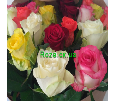 """Magnificent bouquet of roses 6"" in the online flower shop roza.ck.ua"