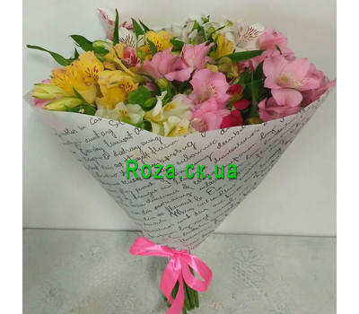 """15 alstroemeria 1"" in the online flower shop roza.ck.ua"