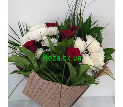 """""""Маленький букет - вид 5"""" в интернет-магазине цветов roza.ck.ua"""