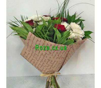 """""""Маленький букет - вид 6"""" в интернет-магазине цветов roza.ck.ua"""