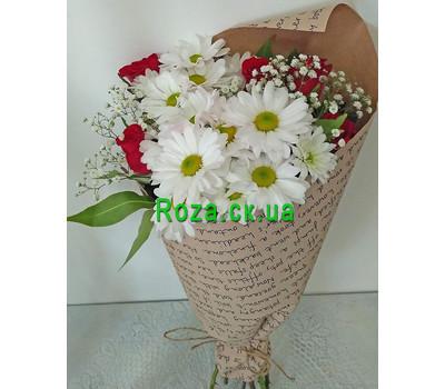 """""""Маленький букет - вид 8"""" в интернет-магазине цветов roza.ck.ua"""