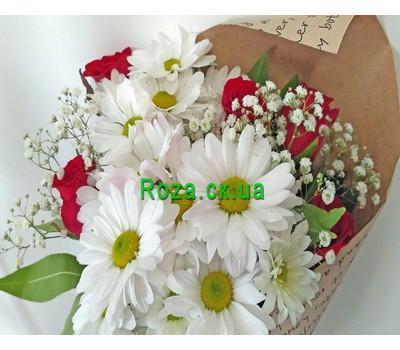 """""""Маленький букет - вид 9"""" в интернет-магазине цветов roza.ck.ua"""