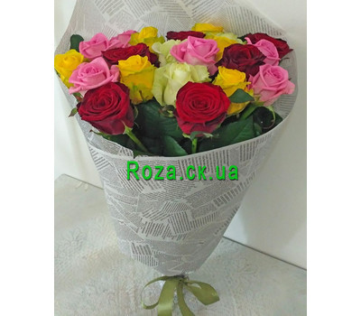 """Magnificent bouquet of roses 9"" in the online flower shop roza.ck.ua"