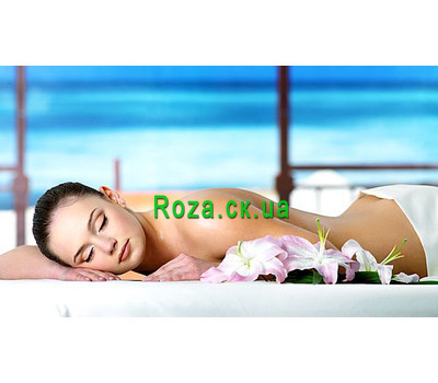 """SPA procedure Sea Paradise"" in the online flower shop roza.ck.ua"