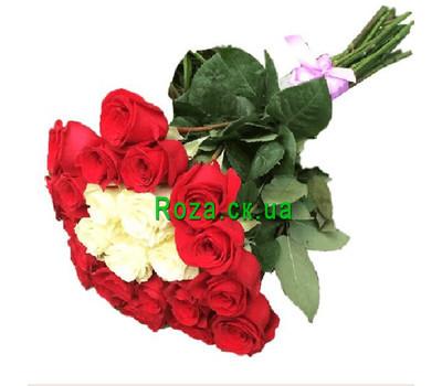 """""""Чудесный букет импортных роз"""" в интернет-магазине цветов roza.ck.ua"""