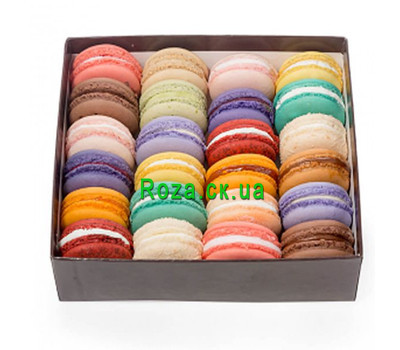 """Box with macaroons in Cherkassy"" in the online flower shop roza.ck.ua"