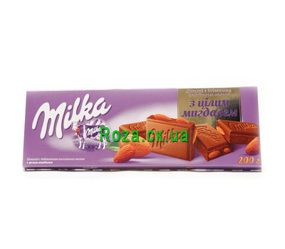 """Milk chocolate Milka"" in the online flower shop roza.ck.ua"