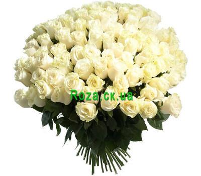 """""""Большой букет импортных роз"""" в интернет-магазине цветов roza.ck.ua"""