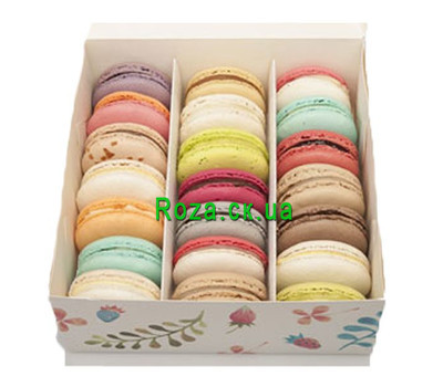 """Buy a box with macaroons in Cherkassy"" in the online flower shop roza.ck.ua"