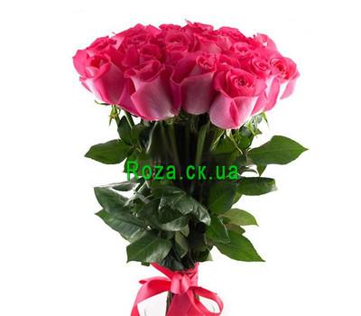 """""""Розовые импортные розы"""" в интернет-магазине цветов roza.ck.ua"""