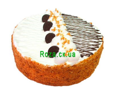"""Cake biscuit"" in the online flower shop roza.ck.ua"