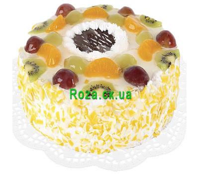 """Fruit cake"" in the online flower shop roza.ck.ua"