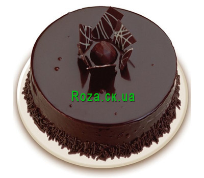 """Chocolate cake"" in the online flower shop roza.ck.ua"